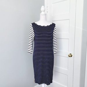 Amour Vert | Modal Striped T-Shirt Dress